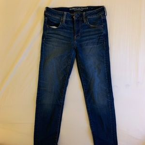 American Eagle Outfitters Dark Wash Jeggings
